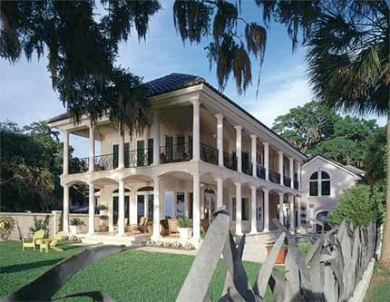 Three Bedroom Italianate Home Plan with Uninterrupted Views - Eplans.com
